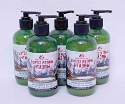 1 Bath & Body Works WINTER CITRUS WREATH Gentle Exfoliating
