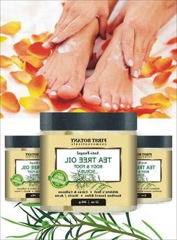 100% Natural Anti Fungal Tea Tree Oil Body & Foot Scrub Best