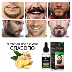 100% Natural Men Growth Beard Oil Organic Beard Wax Balm Avo