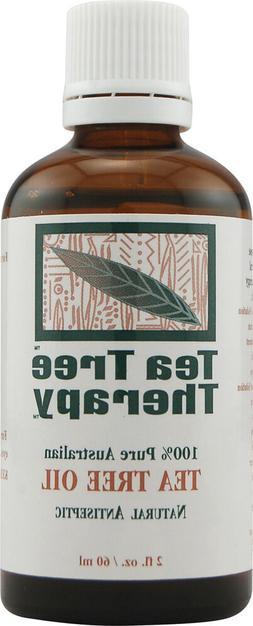 Tea Tree Therapy 100% Pure Australian Tea Tree Oil, 2-Ounce