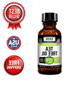 100% Pure Tea Tree Melaleuca Oil 2oz Therapeutic Grade All N