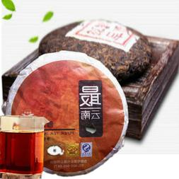 100g 1Pc High Quality Ripe Pu Erh Meng Hai Old Puer Tea Tree