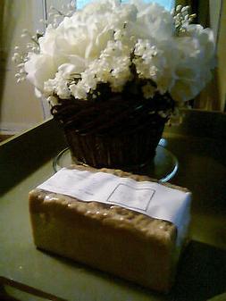 2 lb Neem Tea Tree Sulfur Bentonite Handmade loaf soap FREE