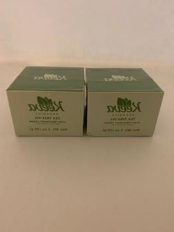 Keeva Organics Tea Tree Oil Acne Treatment Cream 1oz
