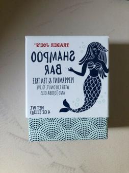 2 Pack Trader Joe's Shampoo Bar - Peppermint & Tea Tree Oi