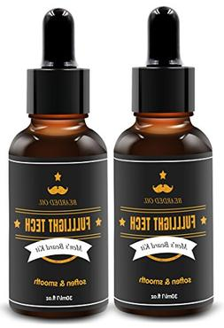 2 Packs Beard Care Oil for Men All Natural Scented Leave-in