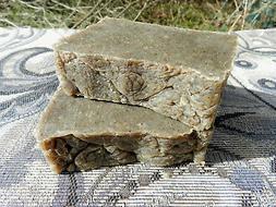 2 Solid Shampoo Bars Oily Hair Rosemary Tea Tree Dead Sea Sa