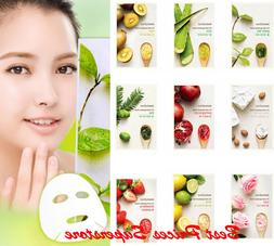 3-10 Sheet INNISFREE It's Real Squeeze Mask Set - 15 kinds