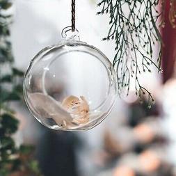 "3"" Hanging Glass Globe Terrarium Candle Holder Bulk Sale Pac"