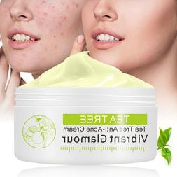 30g Tea Tree Anti Acne Cream Scar Facial Spot Removal Treatm