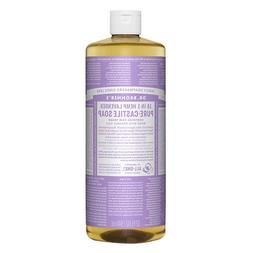 3xDr. Bronner's Magic Soaps Lavender 32 fl oz / 944 ml