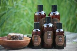 8oz Tea Tree African Black Soap, Liquid African Black Soap