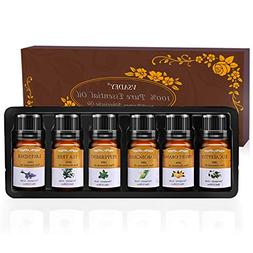 VSADEY Essential Oils Set, Top 6 Aromatherapy Essential Oil