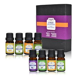iBoost Top 8 Essential Oil Blends, 100% Pure Aromatherapy, T