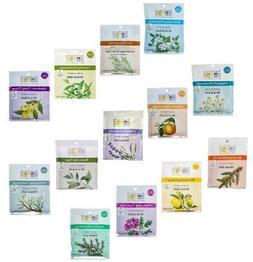 Aura Cacia 2.5 Oz Mineral Bath Packet, All 13 scents Variety