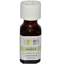 Aura Cacia Essential Oil Lemon, 0.5 oz.