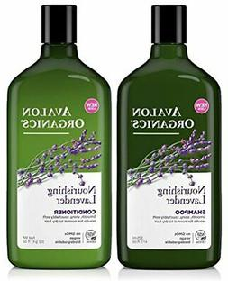Avalon Organics Lavender Nourishing Shampoo & Conditioner Du