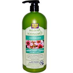 Avalon Organics, Shampoo, Scalp Treatment, Tea Tree, 32 fl o
