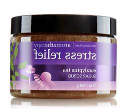 Bath and Body Works Eucalyptus Tea 13 Oz Sugar Scrub Stress