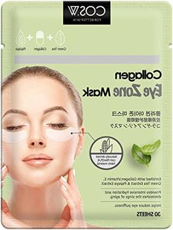 COS.W Smoothing Collagen Eye Pads with Vitamin E for Dark Ci