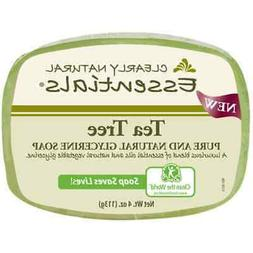 Clearly Natural Essentials Pure Glycerin Soap Bar Tea Tree 4