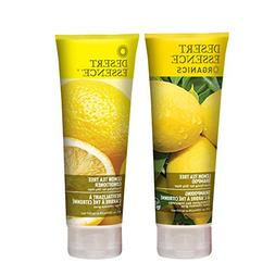 Desert Essence Organics Lemon Tea Tree Shampoo & Conditioner