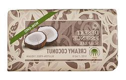 Desert Essence Soap Bar Creamy Coconut 5 oz  - Gluten-free,