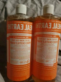 Dr Bronner Tea Tree Castile Liquid Soap 1000ml