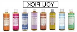 Dr. Bronner's Liquid Soap, 8 oz  - YOU PICK - Free Shipping!
