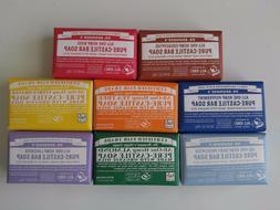 Dr. Bronner's Organic Natural Castile Bar Soaps