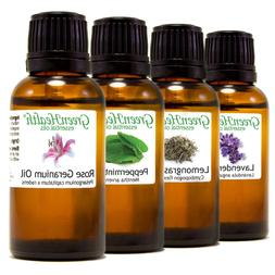 GreenHealth Essential Oils - 30 mL  - Pure & All Natural - A