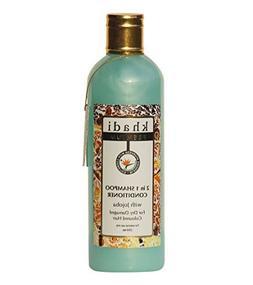 Khadi 2 In 1 Shampoo With Jojoba Tea Tree Oil Caster Oil Sil