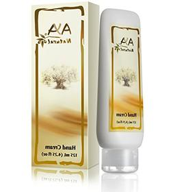 Aya Natural Hand Cream for Dry Cracked Hands - Vegan Anti Ag