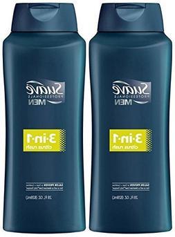 Suave Men 3-in-1 Shampoo + Conditioner + Body Wash - Citrus