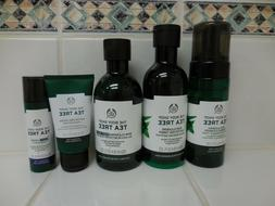 The Body Shop TEA TREE Body Wash / Toner / Lotion / Cleanser