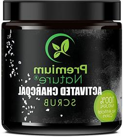 Activated Charcoal Exfoliating Body Scrub - Exfoliating Face