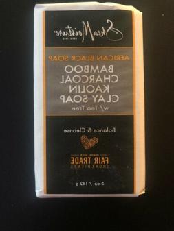 Shea Moisture African Black Soap Bamboo Charcoal Kaolin Clay