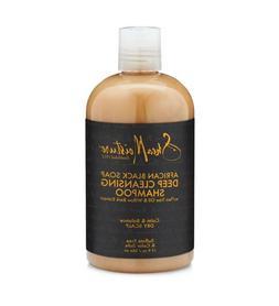 Shea Moisture African Black Soap Deep Cleansing Shampoo Tea