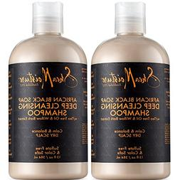 Shea Moisture African Black Soap Deep Cleansing Shampoo, 13