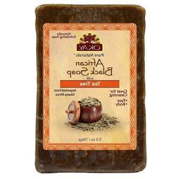 African Black Soap Tea Tree Oil Aloe Vera & RAW Shea Butter