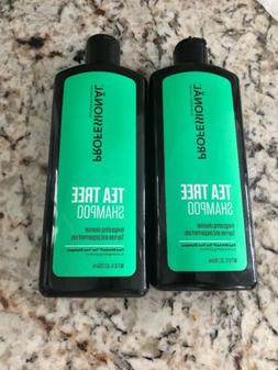 Professional Tea Tree Shampoo 12 Oz Set Of 2 One Cap Broke