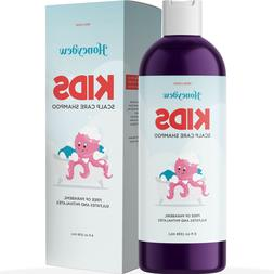 Anti Dandruff Shampoo for Kids 8 Oz | Tear Free + Scalp Trea