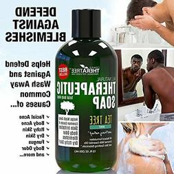 Oleavine Antifungal Body Soap with Tea Tree and Neem for Rin