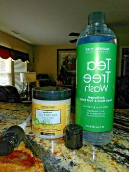 Antifungal Tea Tree Body Wash AND BONUS Tea Tree Oil Body &