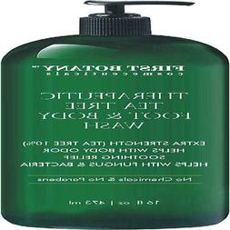 antifungal tea tree oil body wash helps