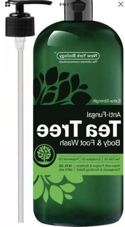 Antifungal Tea Tree Oil Body Wash & Foot Wash  HUGE 16 OZ  1
