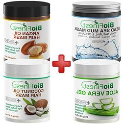 Biofinest Argan Oil Hair Mask, Coconut Oil Hair Mask, Dead