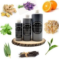 Aromatherapy African Black Soap Liquid 100% Pure Raw Organic