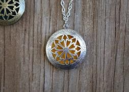 Plant Therapy Aromatherapy Diffuser Necklace Pendant for Ess