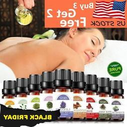 Aromatherapy Essential Oils 100% Natural Pure 10ml Essential